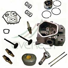 Cylinder Head Kit Honda Generator Piston Air Filter Rocker Arms Connecting Rod