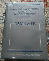 Sealed DSM-IV-TR: Diagnostic & Statistical Manual of Mental Disorders Diagnostic