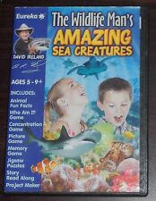 PC CD. The Wildlife Man's Amazing Sea Creatures. Ages 5-9. Eureka Software