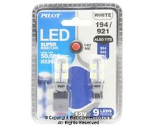NEW Pilot Automotive 194/921 WHITE LED, 2-Pack IL-194W-9 12V Bulb