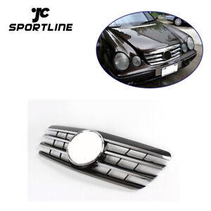 Chrome Sport Grille Fit for Mercedes Benz E CLASS W210 E320 E430 E55 2000-2002