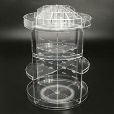 3Tier Acrylic Cosmetic Makeup Jewely 360° Rotating Storage Organizer Case Holder
