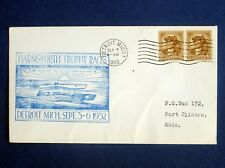 1932 Harmsworth Trophy Races, Miss England & Miss America on Cachet Envelope