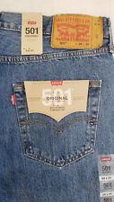 Levis 501 Original Fit Mens Jeans 34X30 Medium Stonewash W34L30 #005010193