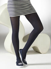 Cotton Blend Patternless footed Tights for Women