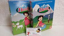 Lot 2 Coffrets 5 DVD Heidi Intégrale KAZE 52 épisodes VF Culte Miyazaki Takahata