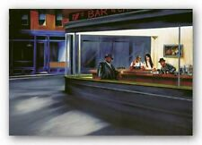 Hip Hop Cafe Jay Martin African American Art Print