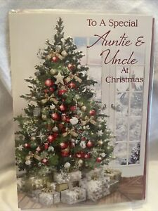 Auntie And Uncle Christmas Card / Auntie And Uncle Christmas Cards - 2 Styles