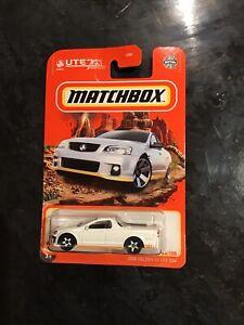 Matchbox Holden 2008 Ve Ssv Ute White