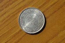 MONETA INDIA 1933 5 KORI KUTCH ARGENTO numismatica SUBALPINA