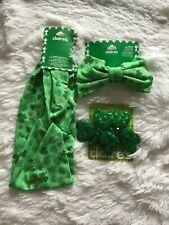 Claire's St. Patrick's Day Lot of 1 headband 1 barrette and set of 2 hair Nwt