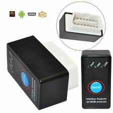ELM327 OBD2 II Bluetooth Android Car Auto Interface Diagnostico Scanner Switch