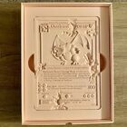 Daniel Arsham CRYSTALIZED CHARIZARD CARD Sculpture Pink IN HAND