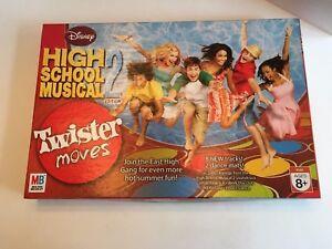 Disney High School Musical 2 Twister Moves Game Milton Bradley Complete