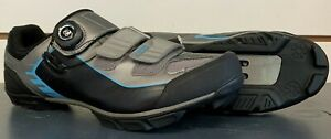 NIB Specialized COMP MTB ATB Cycling Shoes, Gray & Black, Size 42 (US 9) NEW!