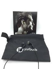 YURBUDS INSPIRE SPORT EARPHONES COLOR BLACK & POUCH BLK
