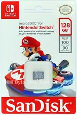 SanDisk 128gb Class 3 Nintendo Switch Micro SD Card