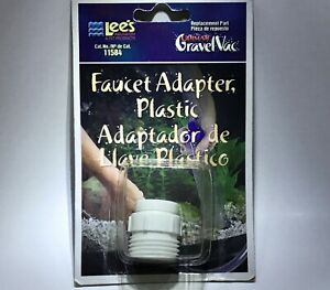 Faucet Adapter, Plastic - Lee's