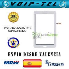 PANTALLA TACTIL TOUCH DIGITALIZADOR SAMSUNG GALAXY TAB 3 LITE 3G  T111 BLANCO
