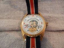"Vintage Richard Nixon ""I'm Not a Crook"" Watch All American Time Co 1973"