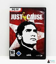 PC Computer Spiel - JUST CAUSE - Win 2000, XP - Komplett in Hülle OVP