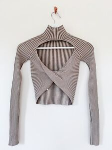 Dion Lee Twist Back Top Size XS