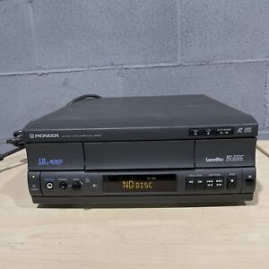 Pioneer Laser Disc Player RS-232C Computer Control Interface