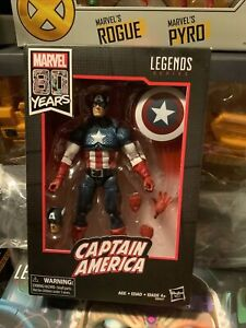 2019 Hasbro Marvel Legends 80th Anniversary Walmart Excl (Ross) Captain America