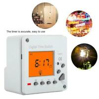 LCD Digital Programmable Smart Control Switch Power Timer with Backlight Display