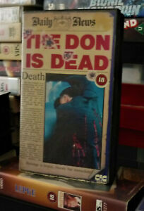 The Don is Dead (PRE-CERT VHS) on the CIC video Label