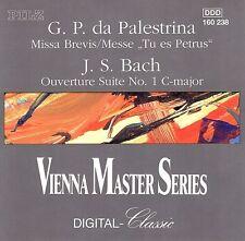 Palestrina: Missa Brevis; Messe Tu es Petrus/Bach: Overture-Suite No 1 in C Maj