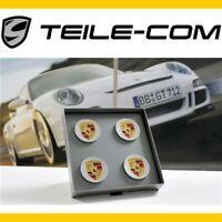 """NEU Porsche Macan Radzierdeckel Satz (4 Stück) für 21"""" Turbo III Räder/Felgen"""
