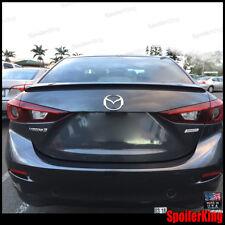 #414L Euro R Trunk Spoiler SpoilerKing Wing (Fits: Mazda 3 2014-on 4dr sedan BM)