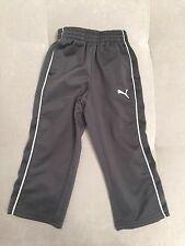 Baby Boy Puma Gray Athletic Pull On Pants 2T