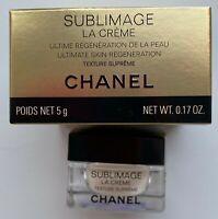 Chanel Sublimage La creme MINIATURE 5 ml 0.17 fl oz texture supreme VIP GIFT