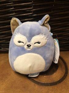 "Squishmallows-Melani the Sleepy Eye Fox-5""-NWT"
