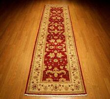 2.7 x 10 Handmade High Quality Veggie dyes Fine Wool Afghan Sultanabad Runner