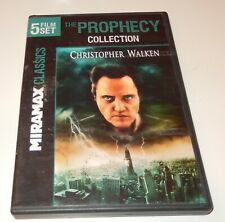 The Prophecy Collection Christopher Walken  (DVD, 2011, 2-Discs/5 Films) WS