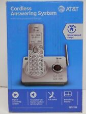 AT&T *EL52119* 1 HANDSET CORDLESS ANSWERING SYSTEM WITH CALL BLOCKING