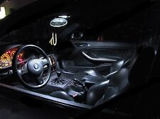 BMW E60 5 Serie LED XENON BIANCO LUCI INTERNI LAMPADINE KIT