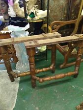 ANTIQUE OAK TABLE LEGS ARCHITECTURAL SALVAGE
