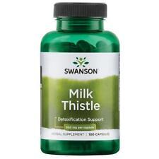 Swanson Milk Thistle, 500mg - 100 CAPS