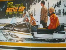 1970 Vintage ARCTIC CAT Panther Snowmobile Dealer Brochure