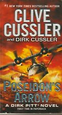 Poseidon'S Arrow, By Clive Cussler, 2012 1St Edition, Paperback