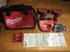 Milwaukee 2504/2553-20 12v 1/2� Combo Kit New Other Must See!