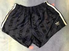 VINTAGE MENS ADIDAS RUNNING GLANZ NYLON SPRINTER SHORTS GYM 80s WEST GERMANY L/7