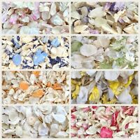 Biodegradable WEDDING CONFETTI IVORY Dried FLUTTER FALL Real Throwing Petals