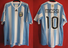 Maillot Argentina vintage Copa America 2011 Messi Argentine Adidas shirt - L