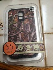 S5 Samsung Galaxy Phone Case Turtle Box Camo life Armor Case Wallet Shell