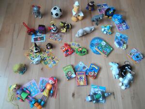 McDonalds Figuren und Spielzeug - 30-teiliges Konvolut von 2000-2010 TOP Z1